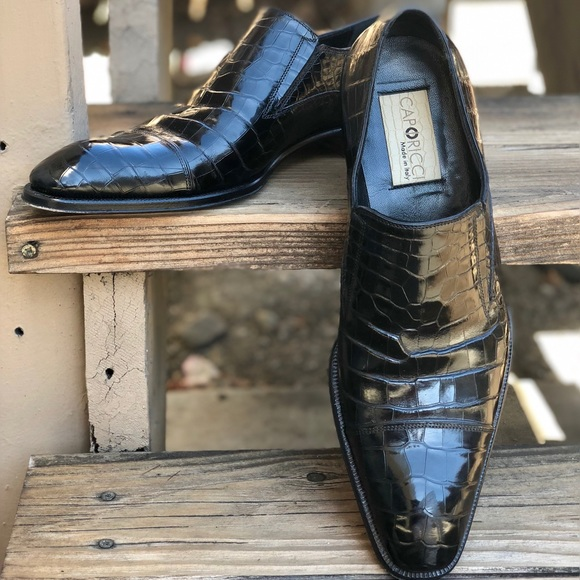 52a18b557fd Caporicci Other - Caporicci Italian Alligator Loafers